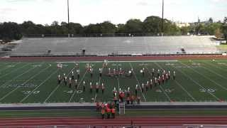 Orangefield High School Band 2014 - UIL Region 10 Marching Contest