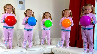 Five Little Monkeys Kids songs with Monica