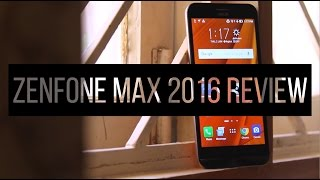 New Asus Zenfone Max 2016 Review! Gaming, Perfomance & Full phone test!