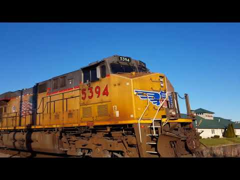 Railfanning the CP and UP 12/14/17