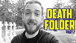 Death Folder, Funerals and Planning for Your Death: Personal Financial Planning - Part 2