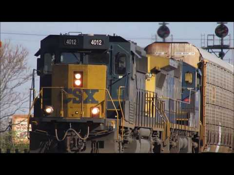 A Great Day of Railfanning in Cincinnati, Ohio with Cincy Railfan Productions! 11/21/2017.