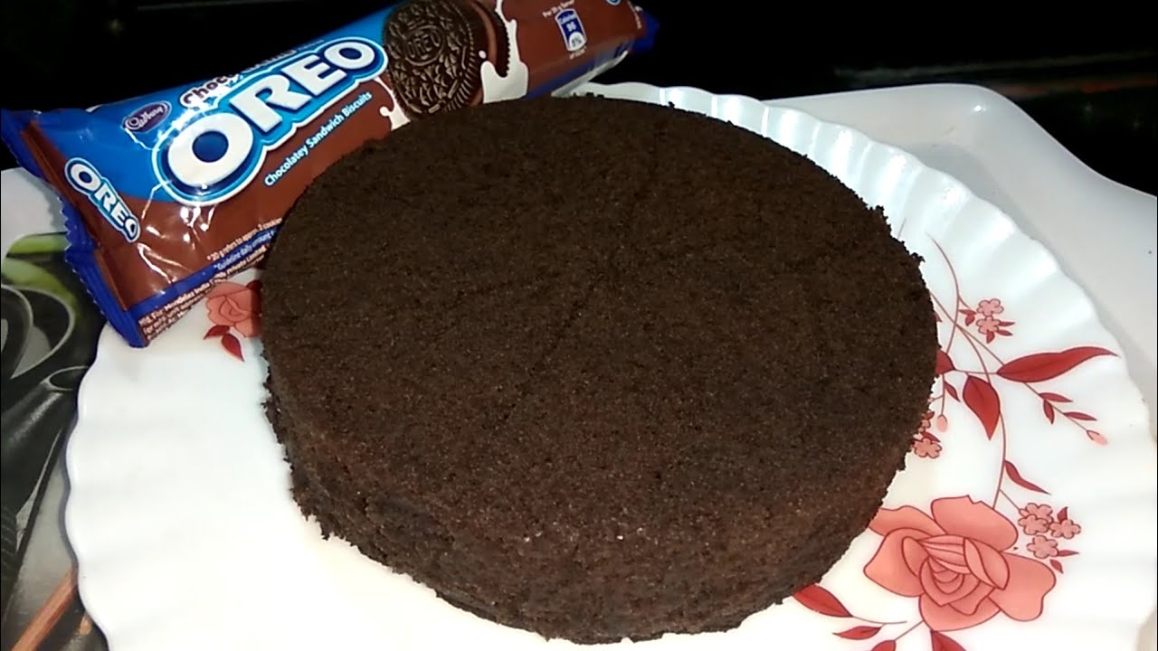 Oreo Biscuit Cake In Microwave Oven Instant 5 Minutes