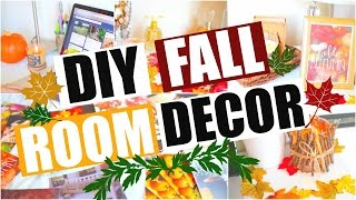 Diy Fall Room Decor! Easy Ways To Spice Up Your Room For Fall 2015!