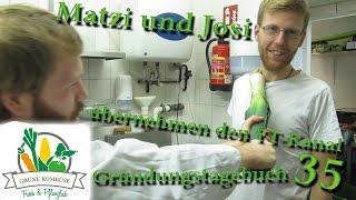 Josef und Mathias übernehmen das Gründungstagebuch - Folkmusik-Konzert - Gtb #35
