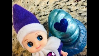 What's Inside the GLITTERY HATCHIMALS  baby elves