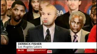 NBA Lockout still goes on (Nov 2011 - BBC One coverage)