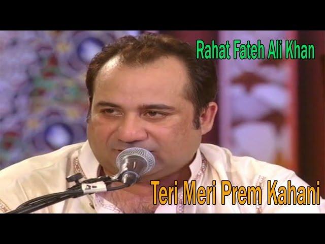 Teri Meri Meri Teri Unplugged Version Rahat Fateh Ali Khan Youtube