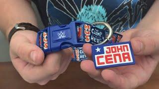 WWE JOHN CENA DOG COLLAR!!