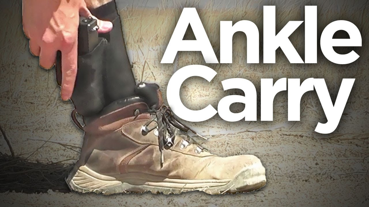 Ankle Carry Method: Glock 27 - YouTube