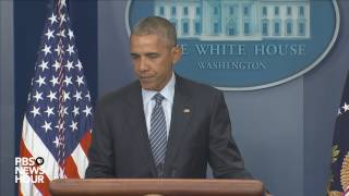 Watch President Obama news conference ahead of final foreign trip