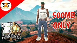 How to Download | Gta San Andreas {500 MB} | For Pc | 2018