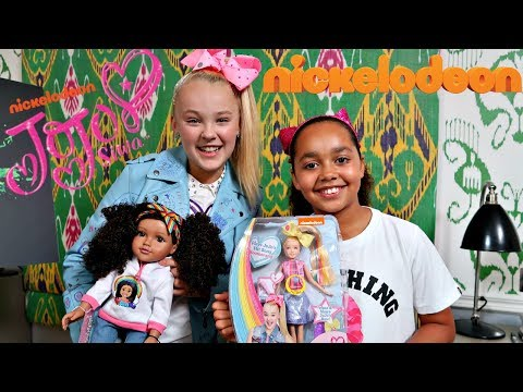 Thumbnail: KIDS REACT! Toys AndMe & JoJo Siwa Dolls Swap Surprise Presents!