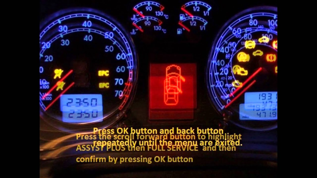 Pontiac G6 2004 2010 How To Reset Service Light Indicator