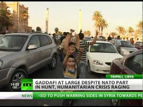 'Gaddafi dead or alive' regime: RT in rebel Tripoli