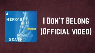 Fontaines D.C. - I Don't Belong (Lyrics)