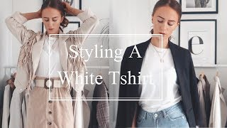 How To Style | White T-Shirt