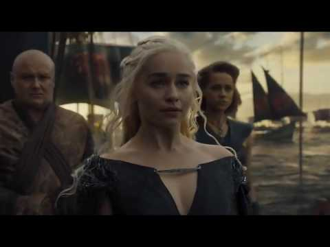 Дейенерис вместе с войском и драконами плывет в Вестерос