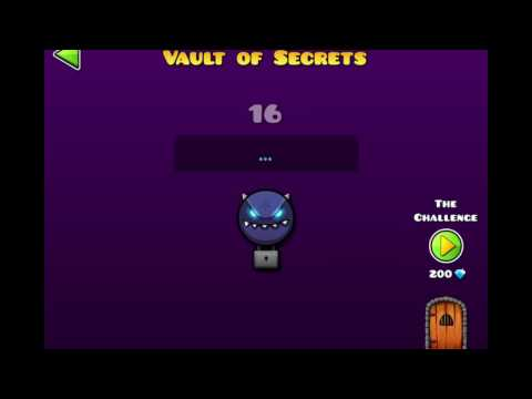 ALL SECRET VAULT CODES! [GEOMETRY DASH WORLD]
