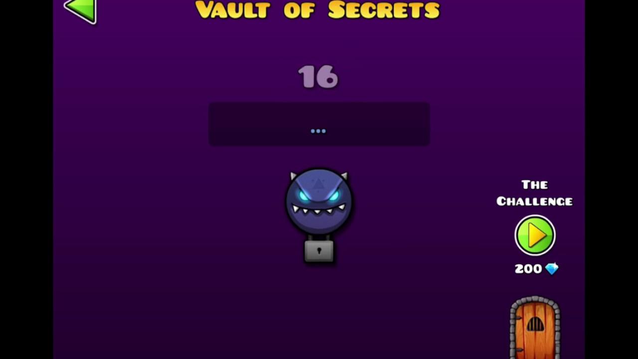 All secret vault codes geometry dash geometry dash for Vault of secrets