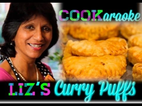 "CURRY PUFFS with Liz. Anglo-Indian Curry Puffs or ""Patties"" are our favourite spicy party snack."
