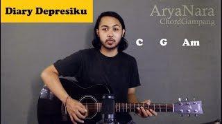 Chord Gampang (Diary Depresiku - Last Child) by Arya Nara (Tutorial Gitar) Untuk Pemula