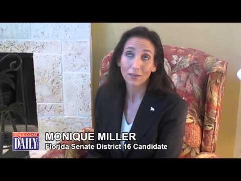 Florida Senate Candidate Monique Miller
