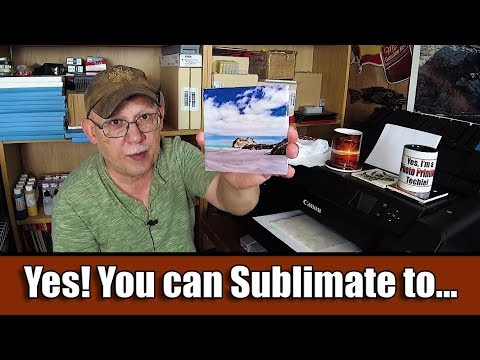 Yes! You Can Sublimate To...