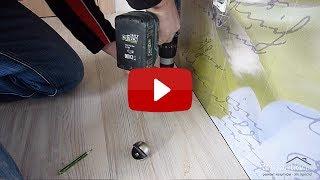 видео Инструкция по врезке замков в дверь из различных материалов