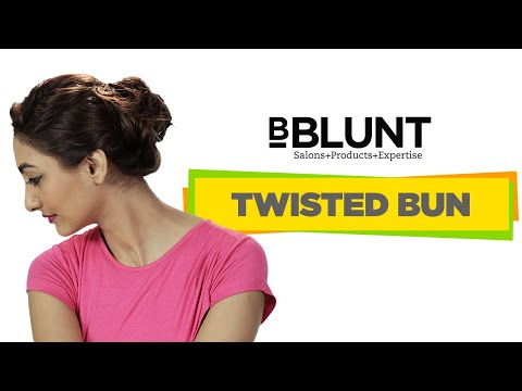 Quick And Easy DIY Twisted Bun Hairstyle Sunday Brunch Ready - Bun hairstyle definition
