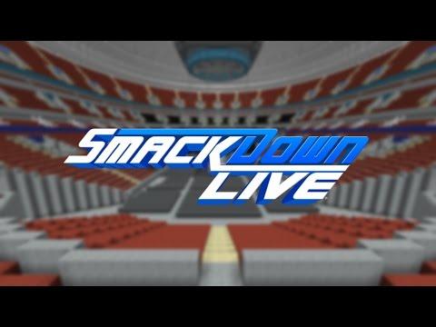 Minecraft - MEGABUILD - WWE Smackdown Live Concept Arena | United Centre