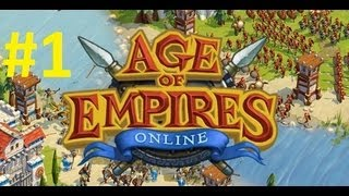 Age of Empires Online Gameplay Walkthrough Part 1