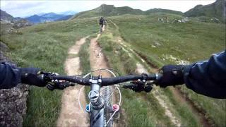 Mountain biking in the alps part 2/2