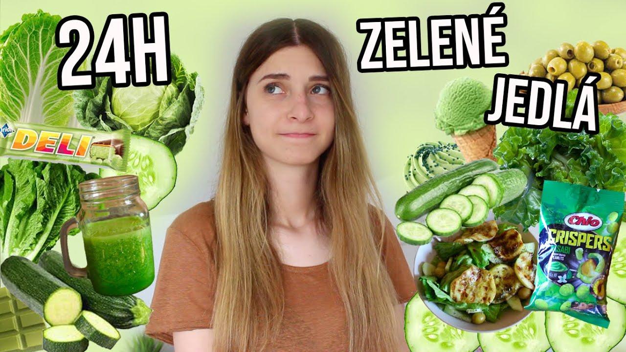 Jem 24 HODÍN len ZELENÉ jedlá!