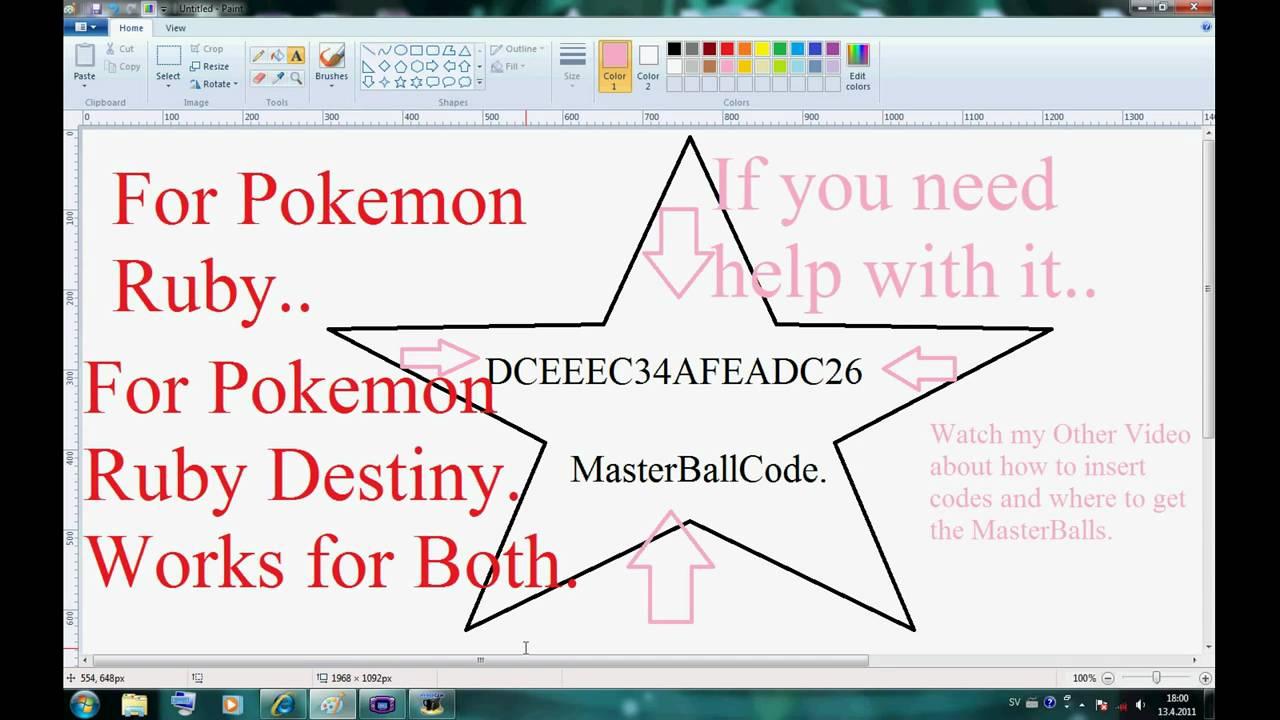 Cheats pokemon ruby destiny life guardians