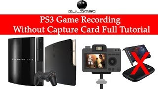 PS3 Game Recording Without Capture Card Full Tutorial