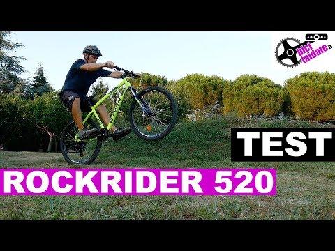 MTB ROCKRIDER 520 TEST E RECENSIONE 🚴