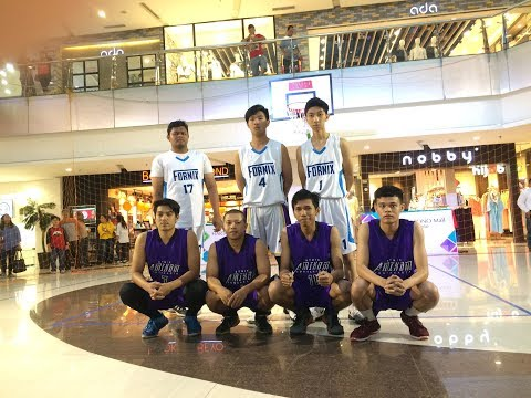 3x3 basket archetype uns semi final (Amikom vs fornix)