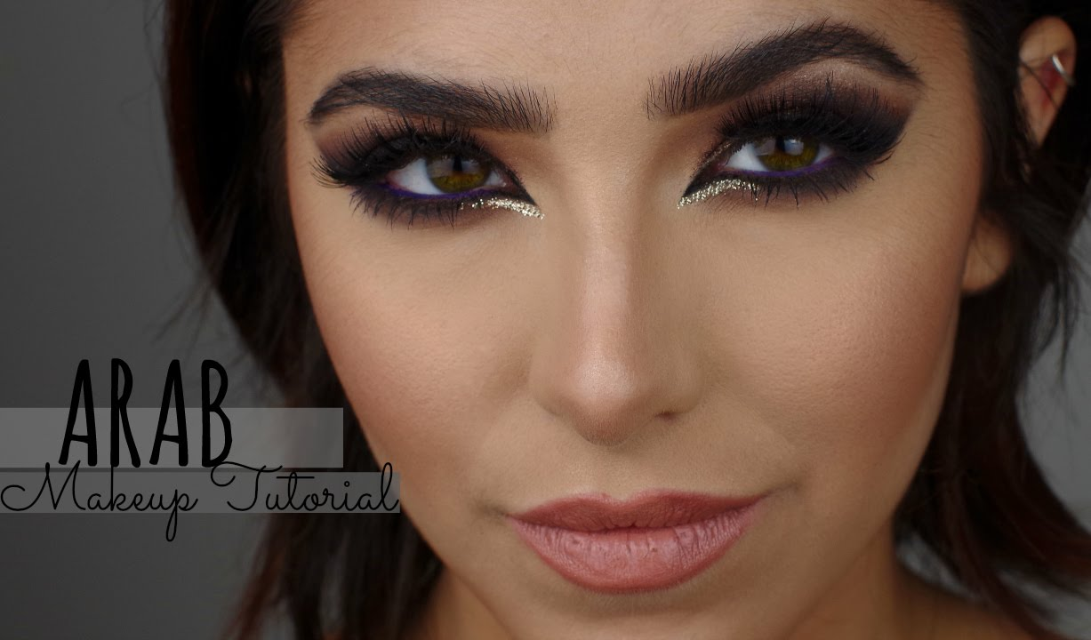 ARAB MAKEUP TUTORIAL BY HUMAYRABEAUTY - YouTube