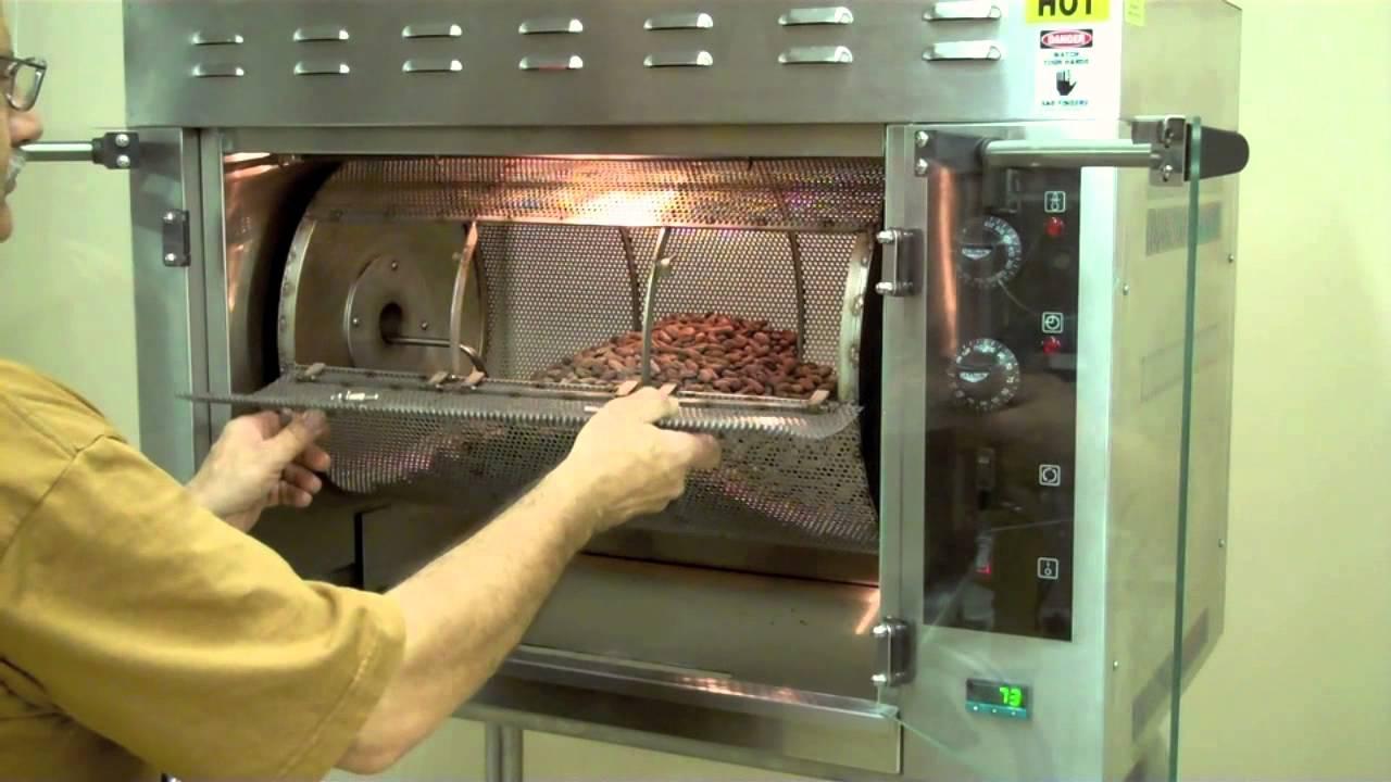 RO15 Cocoa Bean Roaster  YouTube