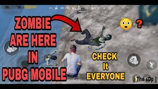 REAL Zombie IN PUBG MOBILE || IN ERANGLE MAP || Pubg Mobile New Upcoming Update Zombie Mode.