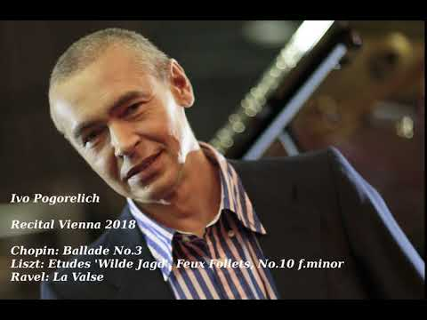 Ivo Pogorelich - Recital in Vienna 2018