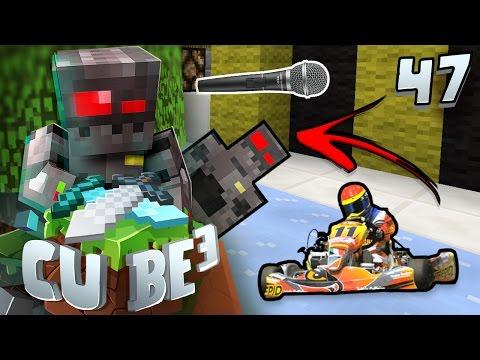 Minecraft Cube SMP S3 Episode 47: Go-Karting & Karaoke