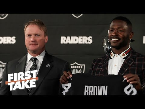 Antonio Brown will inevitably become a distraction to the Raiders – Tedy Bruschi | First Take