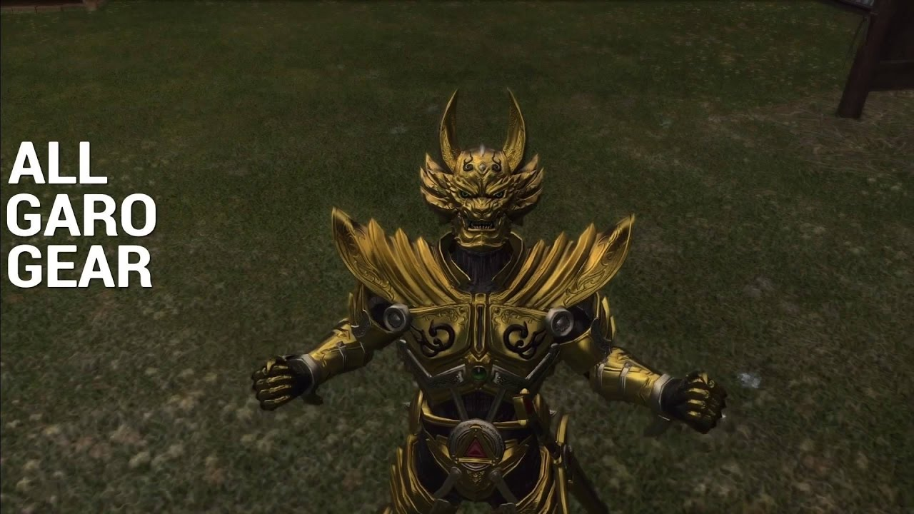 FFXIV All Garo Gear [Feat  The Feast Theme (Starved)]