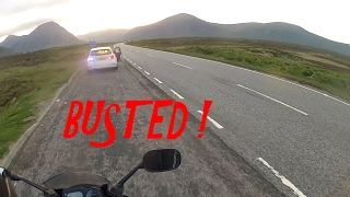 Solo Ride - Scotland #2 - BUSTED !!!