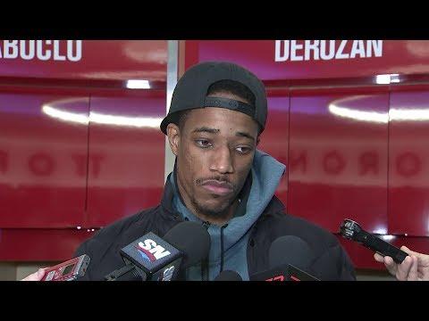 Raptors Post-Game: DeMar DeRozan - November 17, 2017