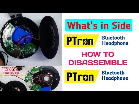 how-to-open-bluetooth-headphone-disassembling-||-ptron-kicks-bluetooth-open-||-what's-inside-this-#2