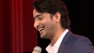 Shaheer Sheikh receives Star of the year award- Asiavision tv award Dubai