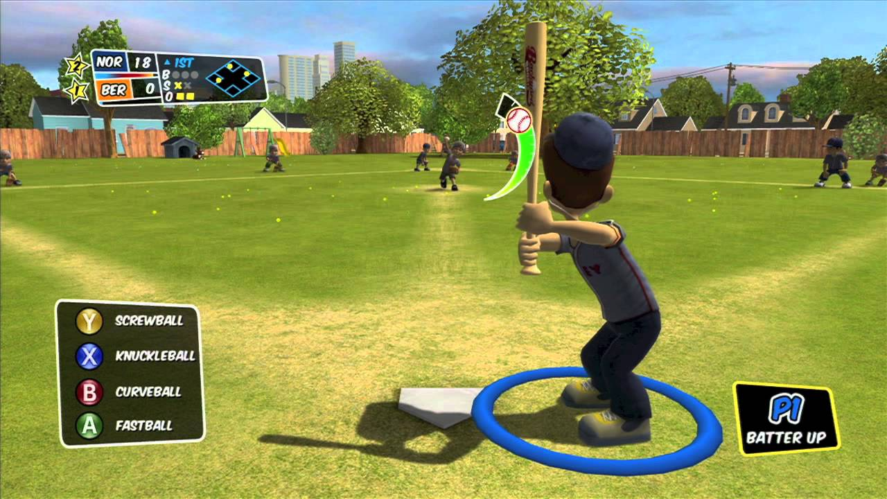 Charmant Backyard Sports: Sandlot Sluggers   Back Against The Wall